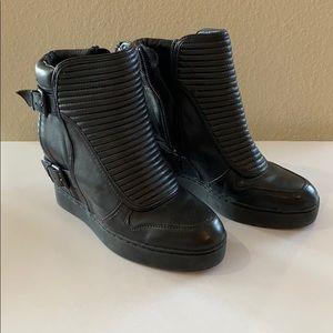 Ash sneakers black (women's size 8)